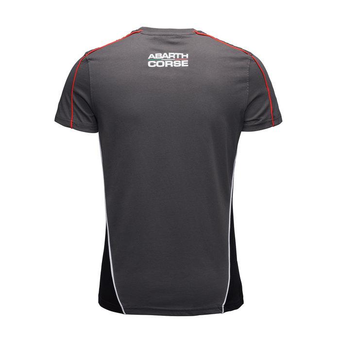 Abarth shirt racing grey