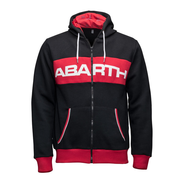 Abarth sweater nero