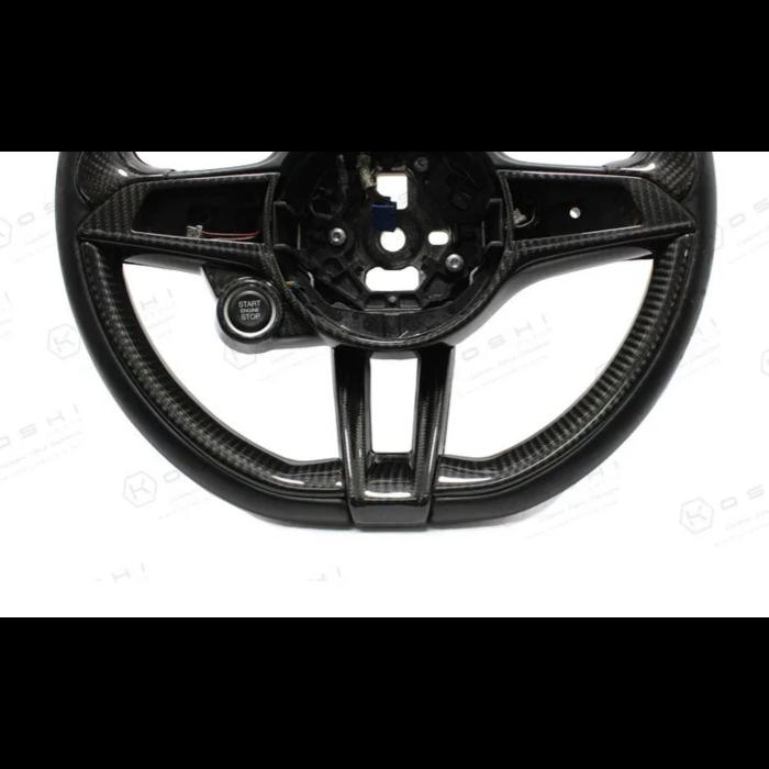 Q side covers steeringwheel