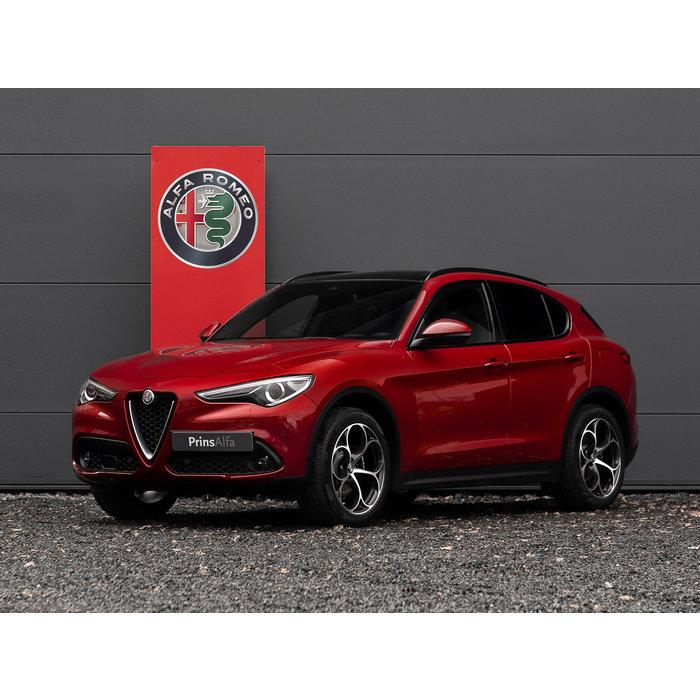 20 inch Alfa Romeo Stelvio Q wielen, gepolijst, complete set incl banden.