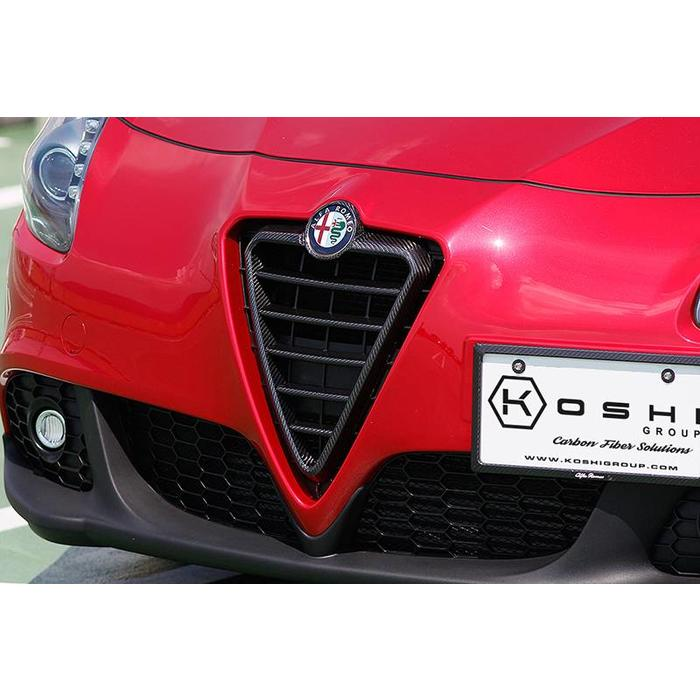 Giulietta carbon grille omlijsting my10