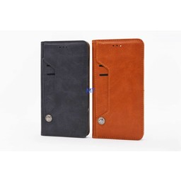 Rome Pelle Leather Wallet Case Ascend P8 Lite