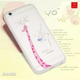 For I-Phone 6/6S Xundd YOYO Girrafe Silicone case