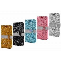 Stone Diamond Bookcase Iphone 7 Plus