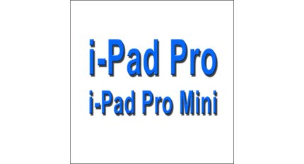 LCD & Touch For I-Pad Pro / pro mini