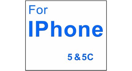 For Iphone 5 & 5C