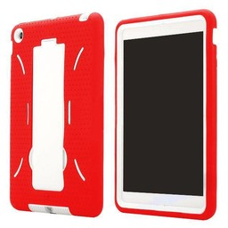Silicone Coated Kickstand Case Ipad Mini 1/2