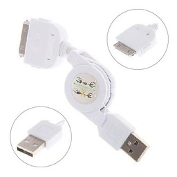 Rekbaar USB Kabel IPhone 4/4S