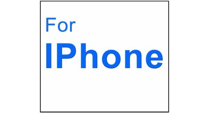 For I-phone 3D Glass