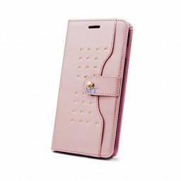 Stylish Book Photo Dot Case For I-Phone 7 Plus
