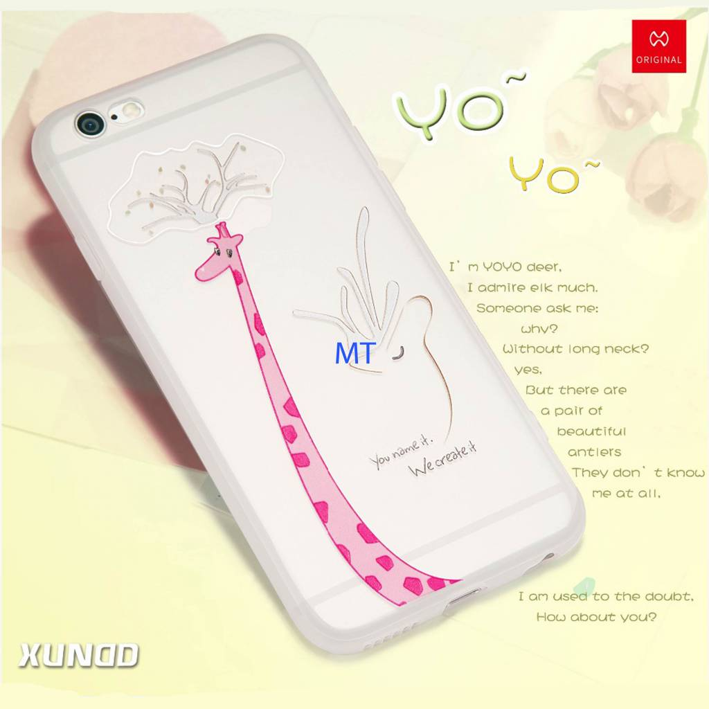Iphone 7 Xundo YOYO Girrafe Silicone case