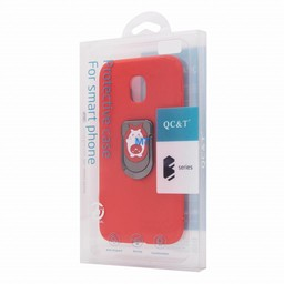 Silicone Magnetic & Holder Case I-Phone X