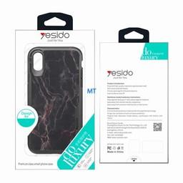 Yesido Stone Look TPU Case For I-Phone X