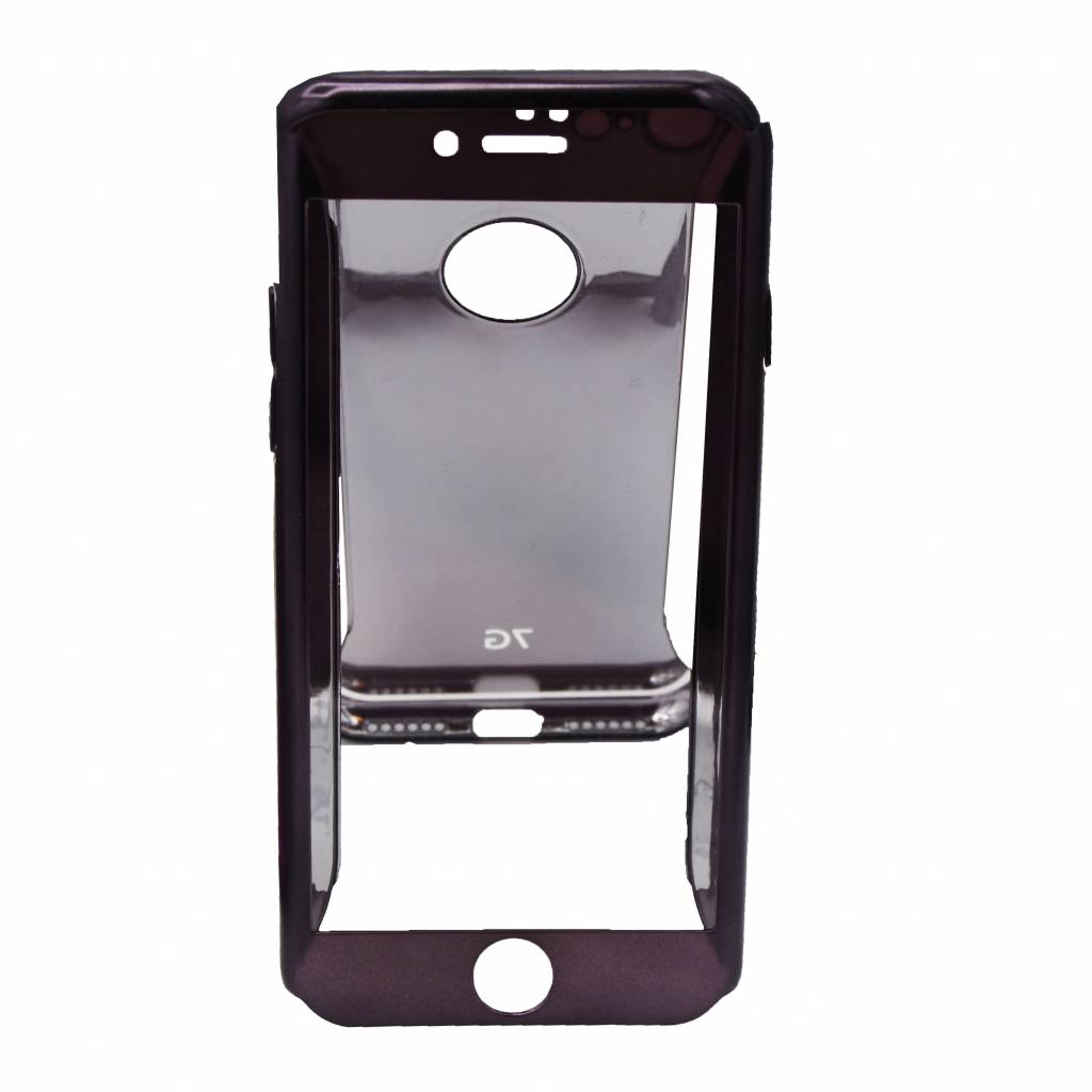 Color Case Full Screen Protector (360) For I-Phone 8 Plus