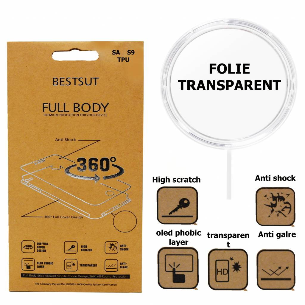 Folie Transparent  Yellow TPU Galaxy S7