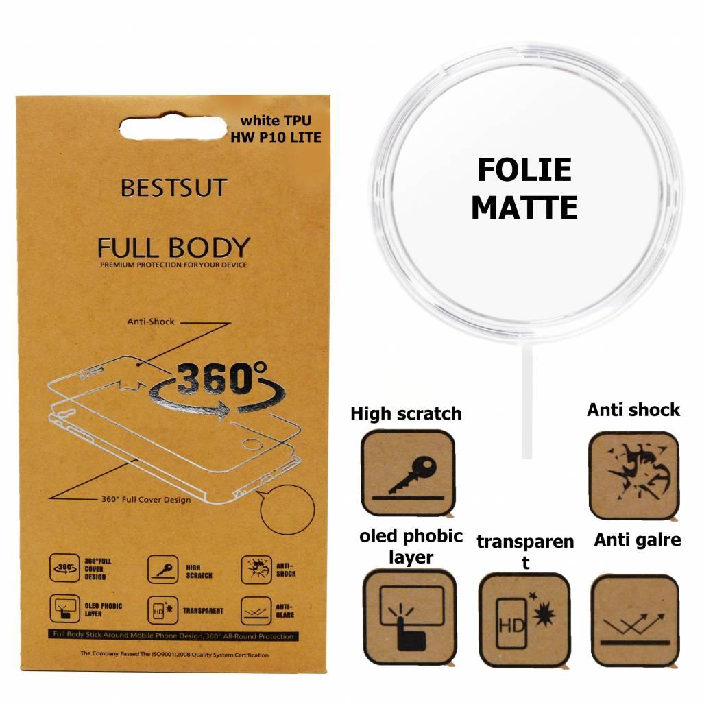 Folie Matte TPU  Full Body P10 Lite