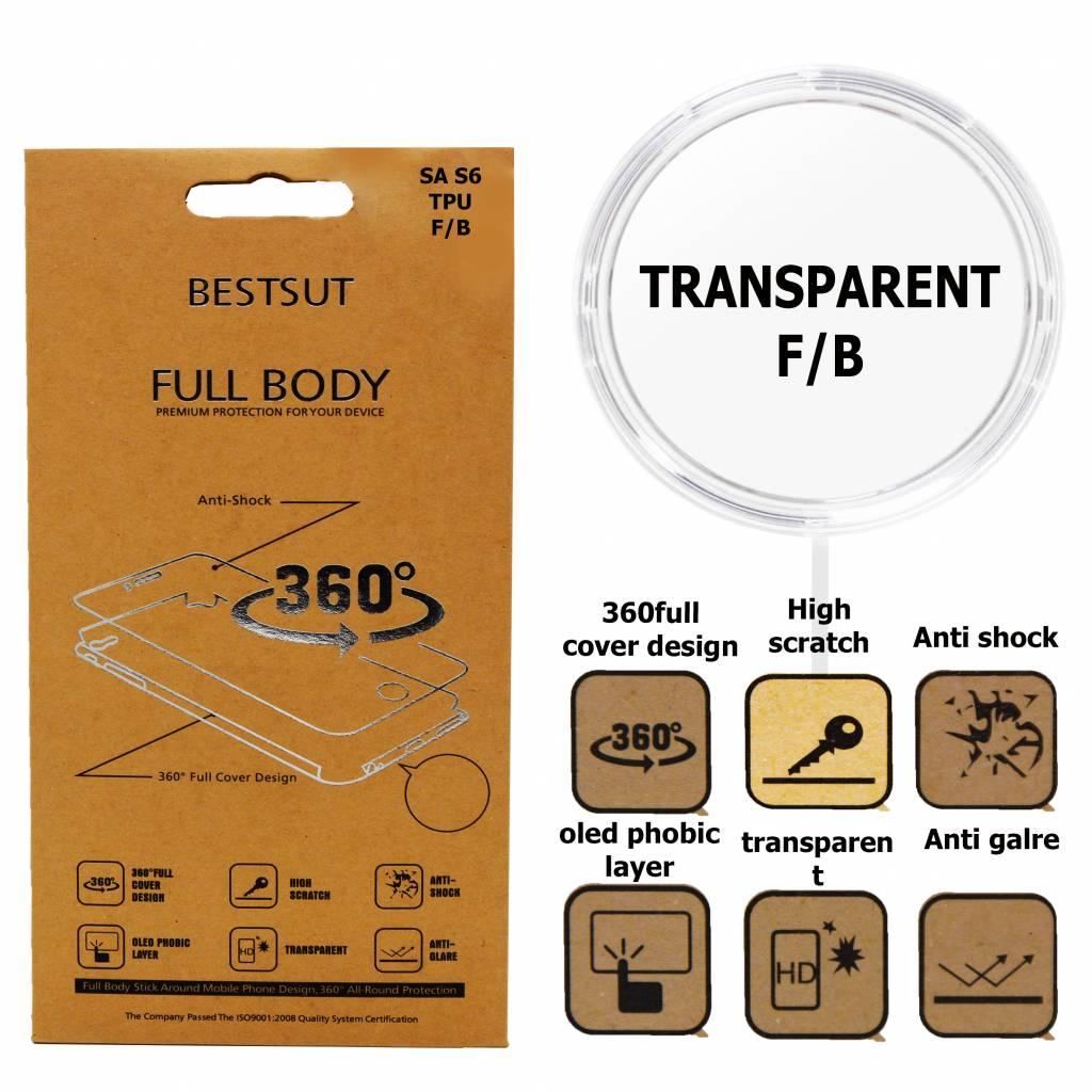 Folie Transparent Front / Back P8 Lite