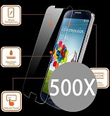 500X Tempered Glass Protector For I-phone 7G