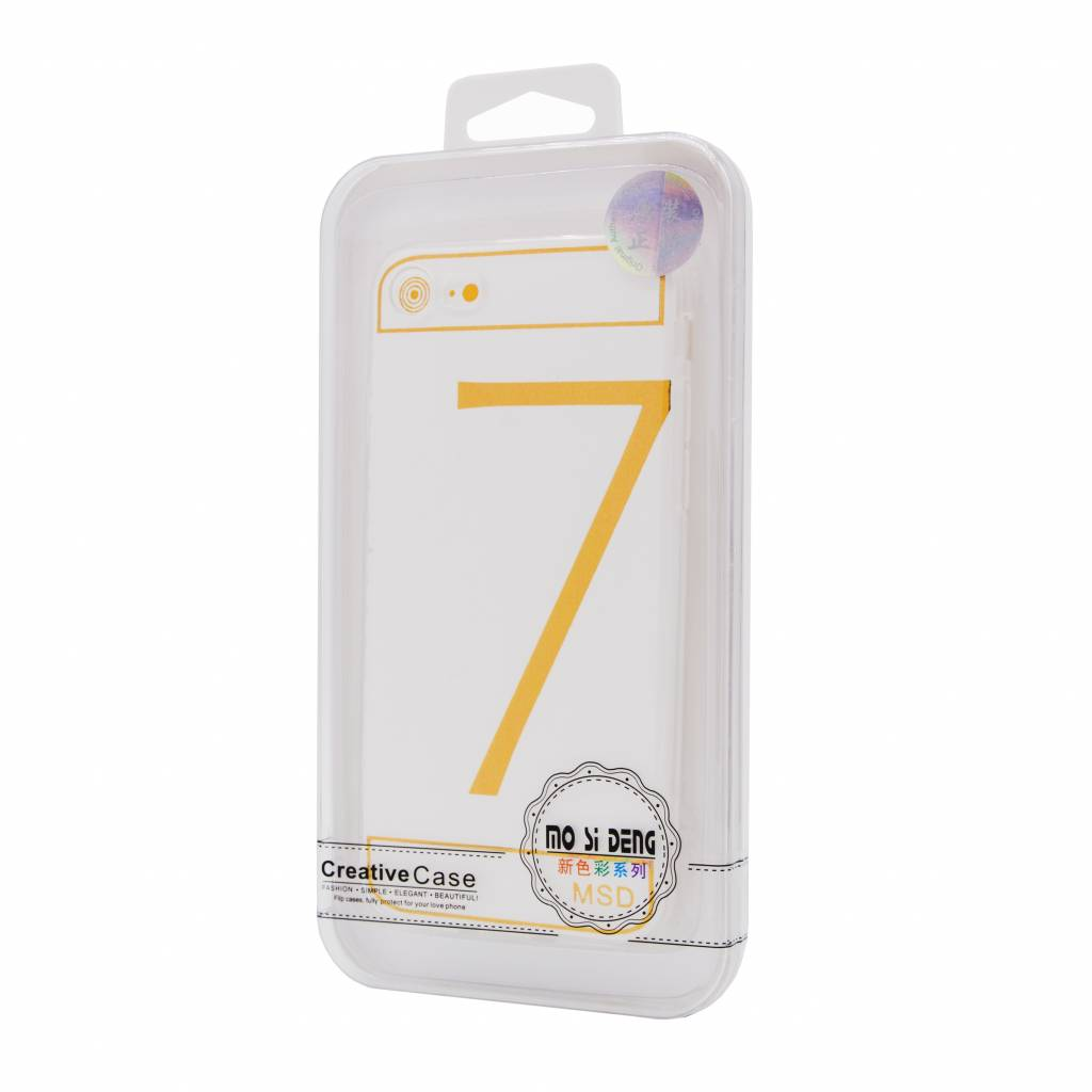 100X Clear Silicone For I-Phone 8G