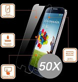 50X Tempered Glass Protector Galaxy A6 Plus