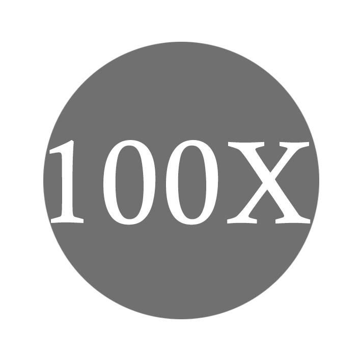 100X Clear Silicone Galaxy S9