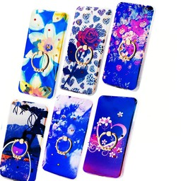 3 Pices Mix TPU Print Ring Galaxy J3 (2017)