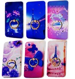 3 Pices Mix TPU Print Ring I-Phone 6G/6S