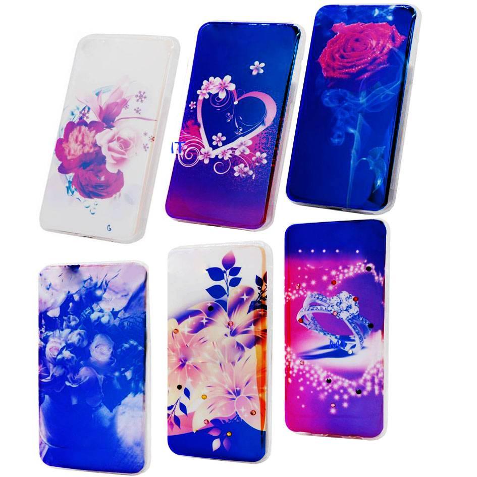 3 Pices Mix TPU Print Galaxy S8