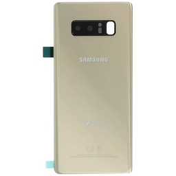 Samsung Galaxy Note 8 (SM-N950F) Battery cover with Duos logo gold GH82- 14985D