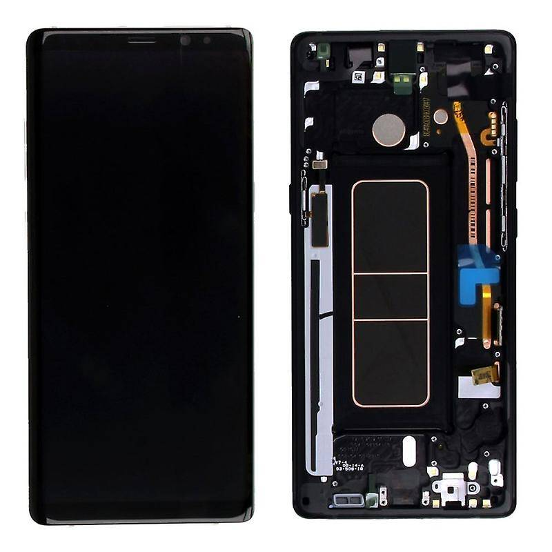 LCD Samsung Galaxy Note 8 Black  GH97-21065A