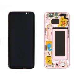 LCD Samsung Galaxy S8 G950F  Pink (GH97-20457E)