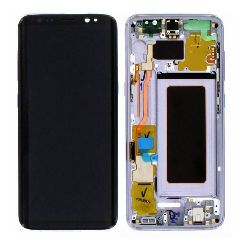 LCD Samsung Galaxy S8 G950F Violet Grey ( GH97-20457C)