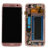 LCD Samsung Galaxy S7 Edge G935 Rose Gold  (GH97-18533E)