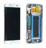 LCD Samsung Galaxy S7 Edge G935 Hvid (GH97-18533D)