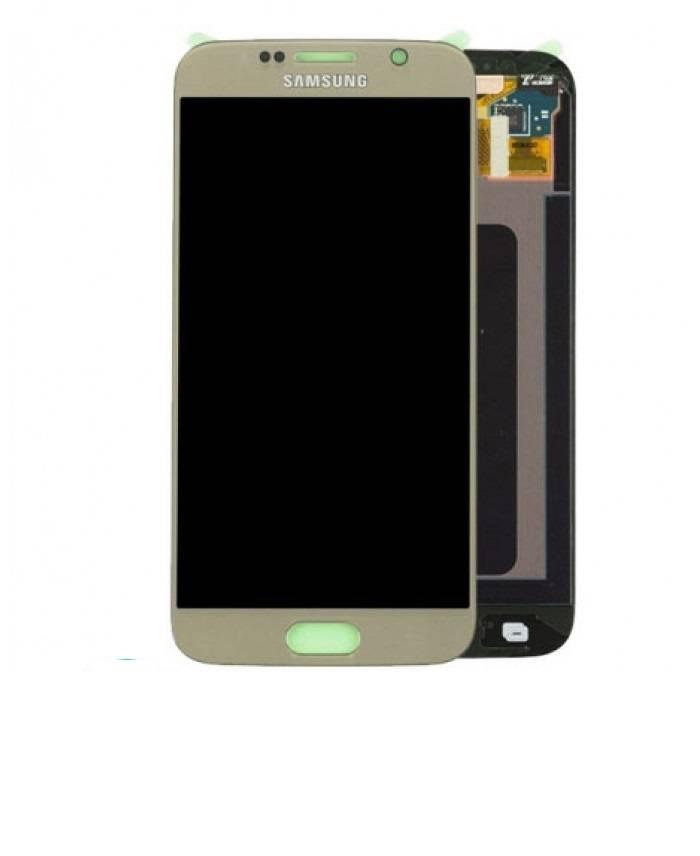 LCD Samsung Galaxy S6 G920 Goud GH97-17260C