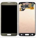 LCD Samsung Galaxy S5 G900 Gold GH97-17667C