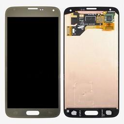 LCD Samsung Galaxy S5 G900 Gold GH97-15959D