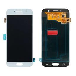 LCD Samsung - A520F Galaxy A5 (2017) Blå - Hvid - GH97 - 19733C