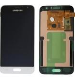 LCD Samsung Galaxy J1 2016  J110F Wit  GH97-18224A