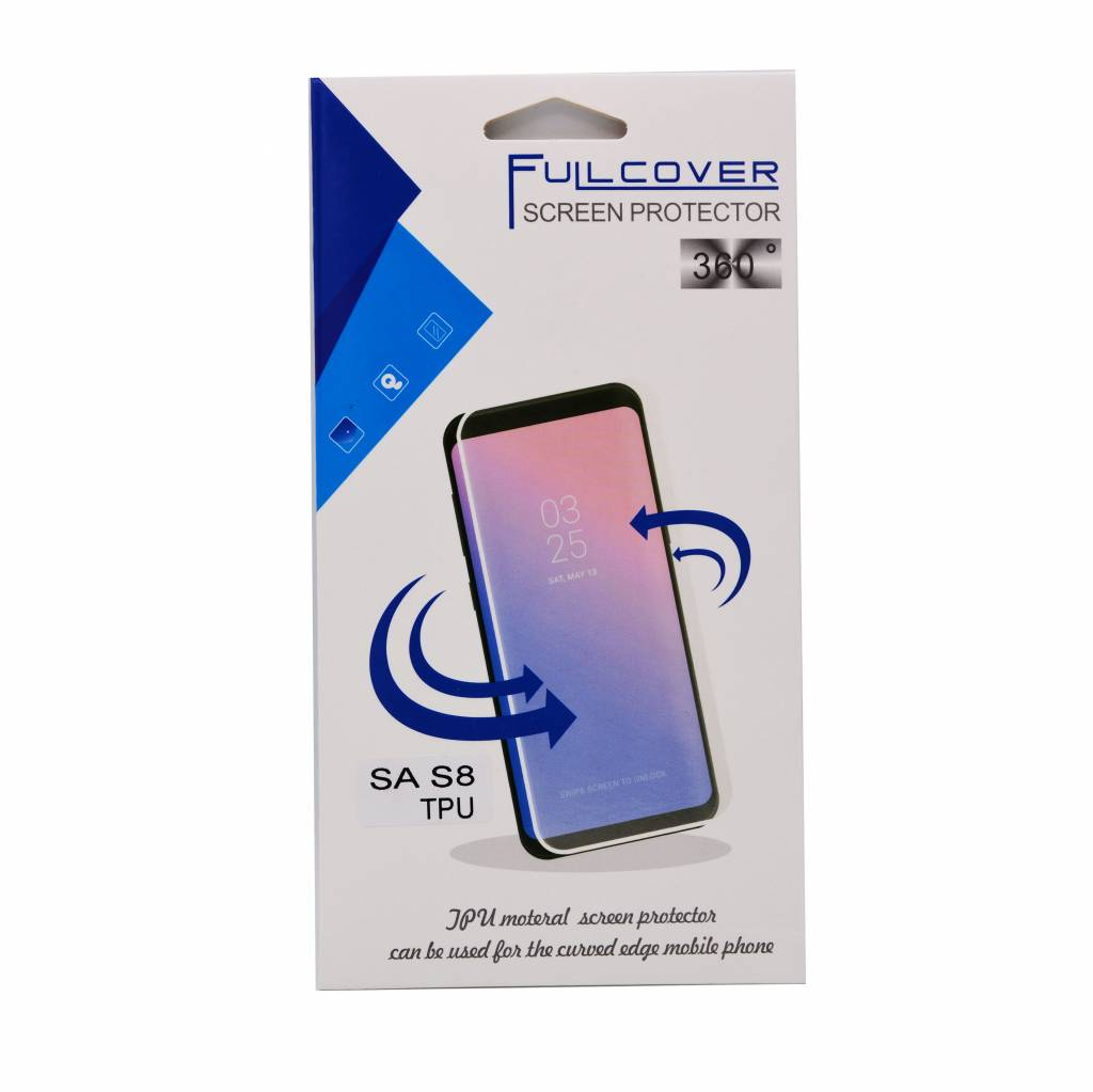 Full cover screen protecter 360 Galaxy S8 Plus