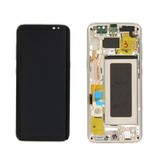 LCD Samsung Galaxy S9  SM-G960F Display Unit Gold Service Pack GH97-21696E