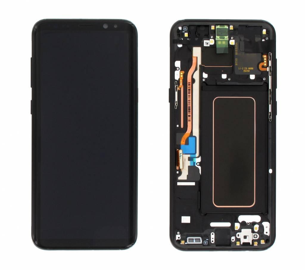 LCD Samsung Galaxy S9 SM-G960F Display Unit Grey Service Pack GH97-21696C