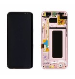 LCD Samsung Galaxy S9 Plus SM-G965F Display Unit Gold Service Pack GH97-21691E