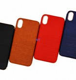 Leather Fashion Case For I-phone Xs