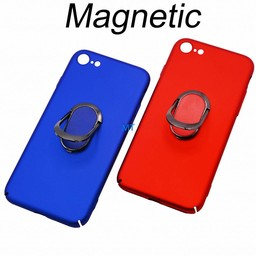 Magnetic & Holder Hard Case (QC & T) For I.Phone Xs