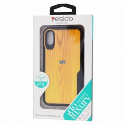 Yesido Wood look Anti Shock Case I.Phone Xs
