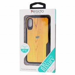 Yesido Wood look Anti Shock Case I.Phone Xs