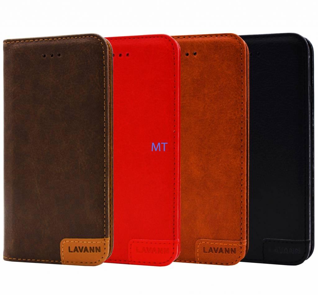 Lavann  Leather Bookcase Galaxy A6 2018