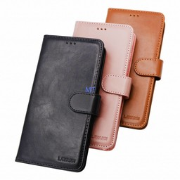 Lavann Protection Leather Book Case Galaxy J8 2018