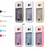 Card Anti Shock Silicone For I-Phone X
